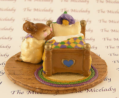 NIGHT PRAYER by Wee Forest Folk, M-178, MOUSE EXPO MARDI GRAS Event Exclusive