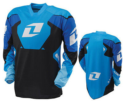New One Industries Carbon  Blue Jersey Mx Atv Bmx  Xlarge Xl