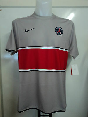 Psg Paris Saint Germain 2008/09 Player Issue 3Rd Shirt By Nike Large Brand New