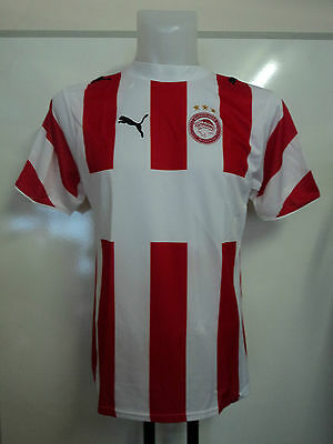 Olympiakos 2006/07 S/s  Home Shirt By Puma Unsponsored Adults Size Xl Brand New