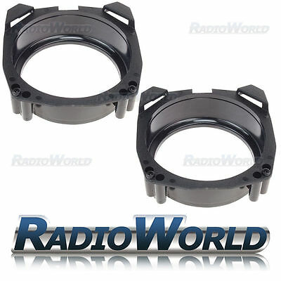 "Ford Fiesta 89-02 Speaker Adaptor Rings Front / Rear Doors 5.25"" 130mm SAK-1507"