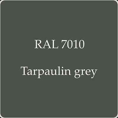 Ral 7010 High Quality German Paint   Tarpaulin Grey 2L With Free Strainer
