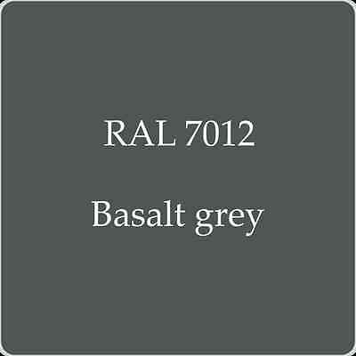 Ral 7012 High Quality German Paint   Basalt Grey 2L With Free Strainer
