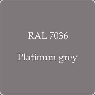 Ral 7036 High Quality German Paint   Platinum Grey 2L With Free Strainer