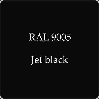 Ral 9005 High Quality German Paint   Jet Black 2L With Free Strainer