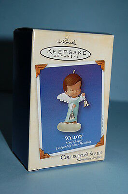 Hallmark 2002 Mary's Angels Willow Ornament Series #15 15th