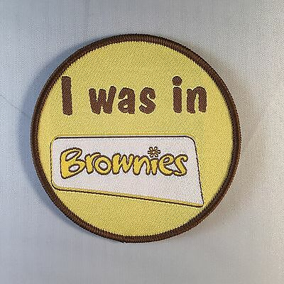 I Was In Rainbows/brownies/guides/senior Section Fun Badge Camp Blanket Guiding