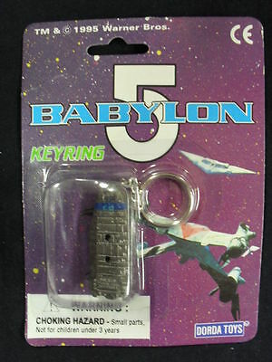 "Babylon 5 Keyring ""babylon 5 Crew Transport"" (Dorda Toys) New!"