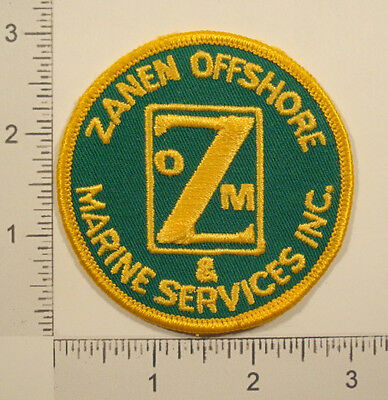 ZANEN OFFSHORE & MARINE SERVICES INC Embroidered PATCH