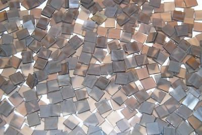 Mini Nutmeg Brown Tumbled Stained Glass Mosaic Tiles Floral Vase Fillers