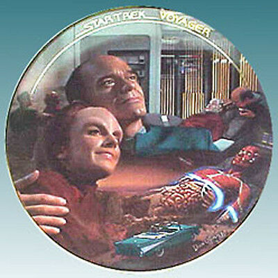 LIFE SIGNS  Star Trek Voyager Episode Plate- FREE S&H