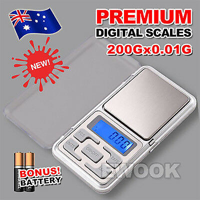 OZ Electronic Pocket Mini Digital Gold Jewelry Weighing Scale 0.01g Weight 200g