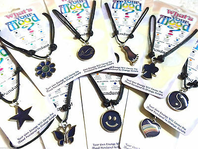 Children's Toddler Girls or Boys Mood Necklaces Kids Love These ! Choose