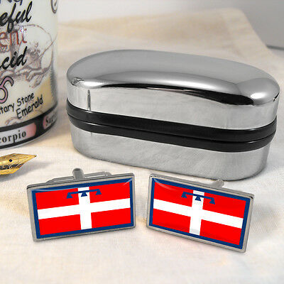Piedmont Flag Cufflinks & Box