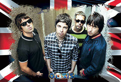 "OASIS British band Poster #3 23.4""x34.5"""