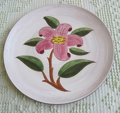 "Late 1940's Stangl Pottery Prelude 9.5"" Hand Painted Plate #3769"