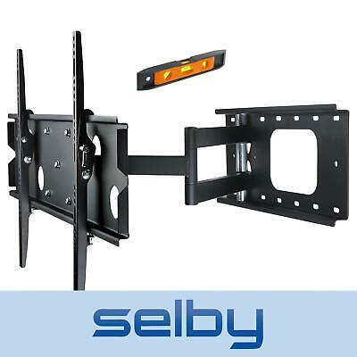 "37-60"" Inch LCD LED Plasma TV Corner Slimline Tilt Swivel Wall Mount Bracket"