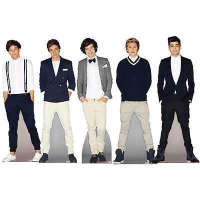 New 1D One Direction Official Stand Standee Lifesize Standup Cutout Cardboard