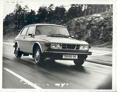 1976 Saab 99 EMS Automobile Photo Poster zh3395-LXXP2O