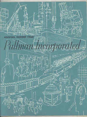1960 Pullman Incorporated Annual Report Brochure wt6641
