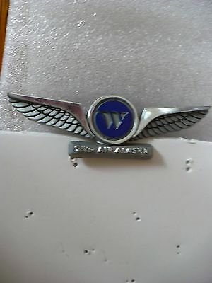 Ng- Wien Air Alaska Wings Plastic Wings (Stoffel Seals) Pin Back   #22530