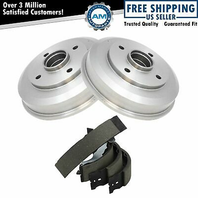 Rear Brake Drum & Shoe Set Kit AX80090 AXS747 AUTO EXTRA for 00-08 Ford Focus