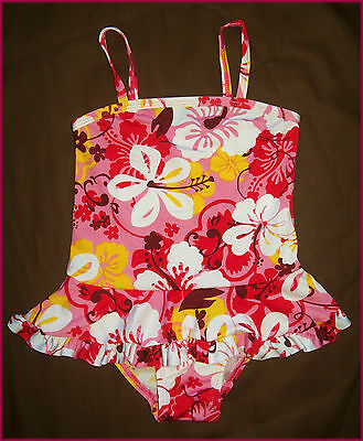 BABY GIRLS TOGS Sz 12 18 or 24 mths - Cute PINK COSSIE / SWIMWEAR BATHERS - New