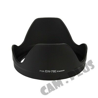 EW-78E Lens Hood for Canon EF-S 15-85mm f/3.5-5.6 IS EW78E