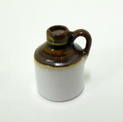 Melody Jane Dolls House Miniature Accessory Old Fashioned Stone Honey Jug