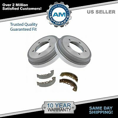 Both Left and Right 2007 For Chrysler Town /& Country Rear Drum Brake Shoes Set with 2 Years Manufacturer Warranty