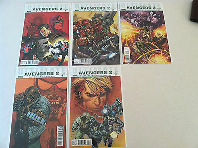 Ultimate Avengers 2 #1-5 (of 6) NM   Mark Millar