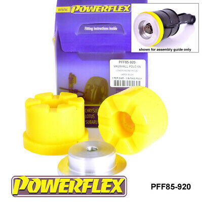 VW Polo 6N (95-02) Powerflex Lower Engine Mount Large Bush PFF85-920