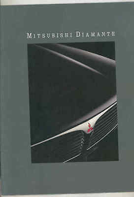1992 Mitsubishi Diamante Brochure mx9097