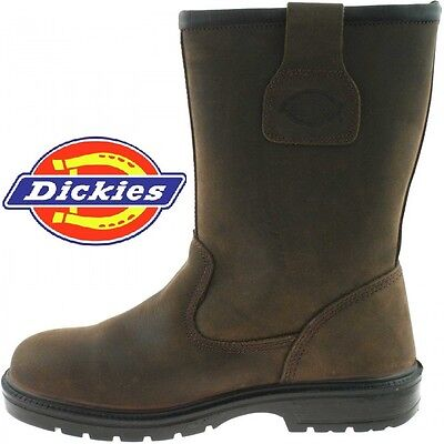 Dickies Dixon Lined Safety Work Rigger Boot FA23350S Sizes 3-12