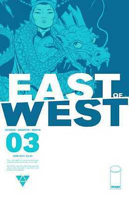 East Of West #3 (NM)`13 Hickman/ Dragotta (1st Print)