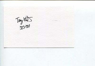 Terry Virts NASA Astronaut STS-130 Space Signed Autograph