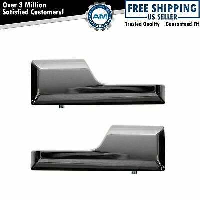 Inside Inner Chrome Door Handle Pair Set for 07-13 Expedition Lincoln Navigator