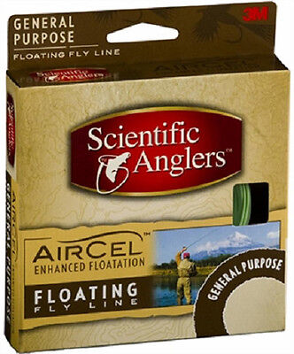 Scientific Anglers 103817 Air Cel Floating Fly Line-WF-5-F-Yellow New