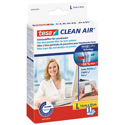 "*** Tesa® Clean Air Feinstaubfilter 140 X 100 Mm ""l"" #50380"