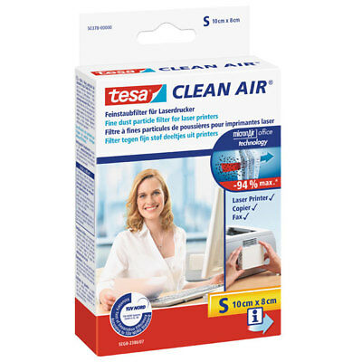 "*** Tesa® Clean Air Feinstaubfilter 100 X 80 Mm ""s"" #50378"