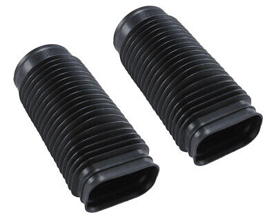 1979-1985 Mustang GT 5.0 V8 Engine Air Cleaner Plastic Flex Intake Tubes - Pair