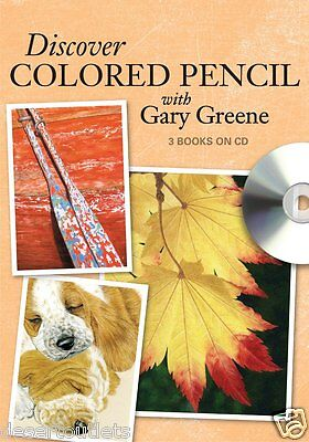 Discover Colored Pencil With Gary Greene [CD] 3 Books and a Bonus Video
