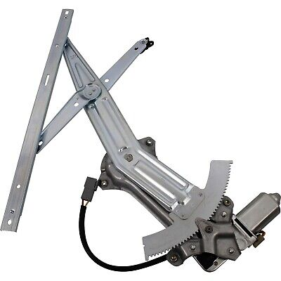 Power Window Regulator For 94-2004 Ford Mustang Front, Driver Side With Motor