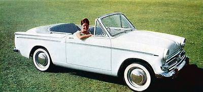 1961 Hillman Minx Convertible Factory Photo J1169