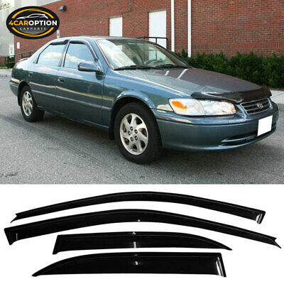 For 97-01 Toyota Camry Sedan Acrylic Window Visors 4Pc Set
