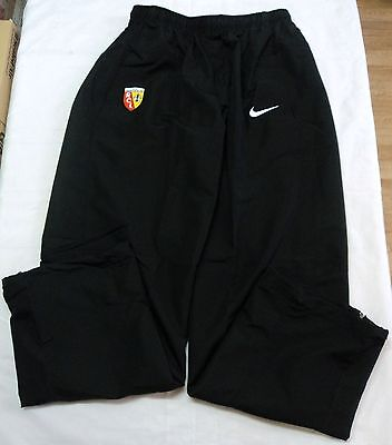 R C Lens Black Track Pants By Nike Adults Size Large Brand New