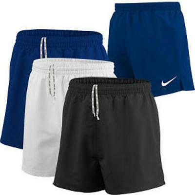 Bnwt Nike Boys Rugby Shorts Navy Large