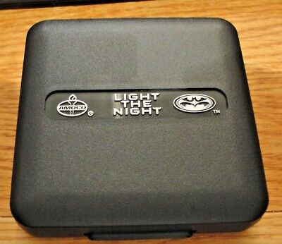 Amoco Batman And Robin Light The Night Mini Mag Light Hardcase Promo 1997 Movie