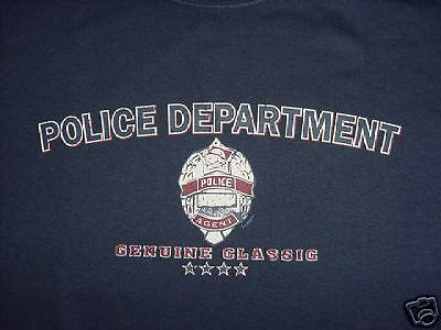 New Police Department Genuine Classic T-Shirt Size 2XL