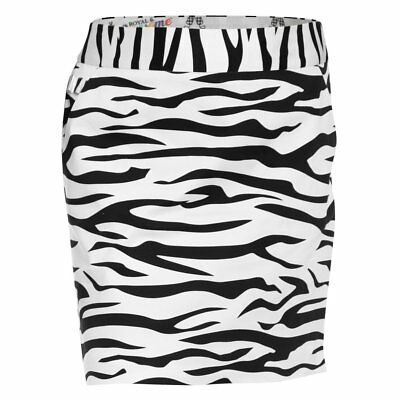 Royal and Awesome Funky Ladies Golf Skort Skirt/Shorts Zebra Trendy 14/16 Faulty